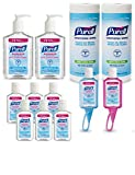 PURELL 9652-K1-EC Advanced Hand Sanitizer and Sanitizing Wipes Kit