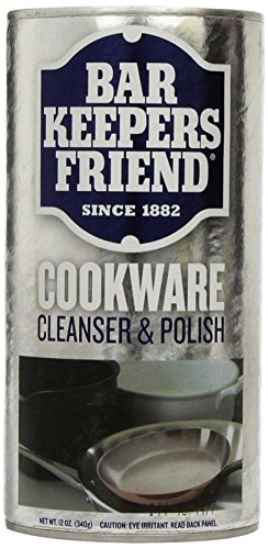 Servaas Lans Bar Keepers Friend Cookware Cleaner,12 oz (Stainless Steel Cleaner Cookware compare prices)