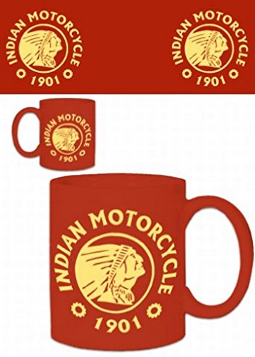 Motorcycles Photo Coffee Mug - Indian Motorcycle, 1901 (4 X 3 Inches)