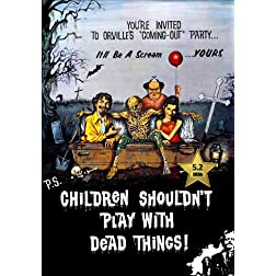Children Shouldn't Play with Dead Things [VHS Retro Style] 1973