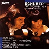 Schubert: Works for Piano 4 Hands Vol. III
