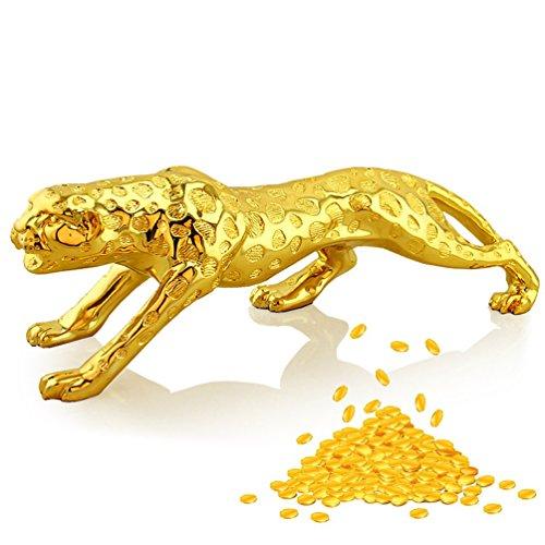 kingmas-Lucky-Symbole-de-Fortune-en-rsine-Or-Leopard-Dcoration-Artisanat-cadeau-figurine