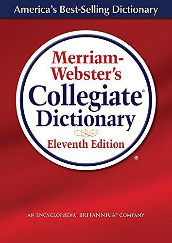 Merriam-Webster's Collegiate Dictionary (Laminated Cover) PDF