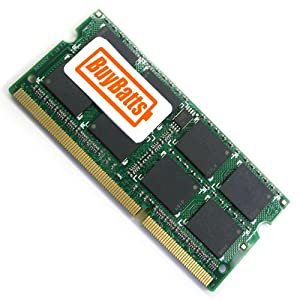 BuyBatts 2GB RAM Memory Fits Samsung RF710-S06DE, SF510-S02AU, R560-AS0A, 200B5B, RV415, E452, X130, E372 Nele, X520-JB01UK, 200B5A, 400B5B, SF510-S01AU, SF510-S04, 900X3A, X430 Notebook Laptop Portable Computer (2GB DDR3-1066 PC3-8500 204-pin SODIMM)