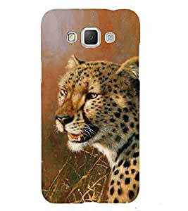 Leopard in Painting 3D Hard Polycarbonate Designer Back Case Cover for Samsung Galaxy Grand 3