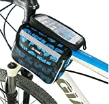 Amazon.co.jp(クチュールブライダル)CoutureBridal 自転車バッグ スマホホルダー 軽量 防水ケース 自転車収納バッグ 便利 おしゃれ バッグ カバン
