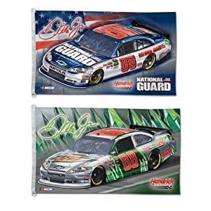 Dale Earnhardt Jr. Nascar Flag 3ft x 5ft Printed Polyester by WinCraft