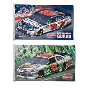 Dale Earnhardt Jr. Official NASCAR 3ftx5ft Banner Flag by WinCraft