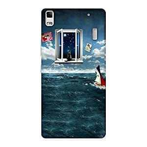Delighted Water Wonder Back Case Cover for Lenovo A7000