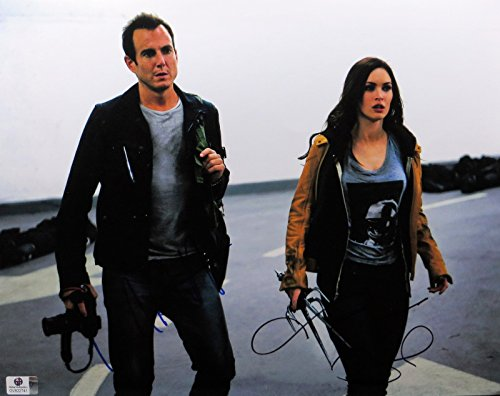 Will Arnett Megan Fox Signed 11X14 Photo Teenage Mutant Ninja Turtles GV822741