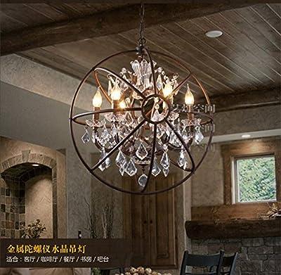 Foucault's Orb Crystal Chandelier Restoration E14 Bulb Ceiling Lamp Light 19.7¡° ;TM79F-32M UGBA151085