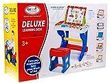 Aprender tabla HM1101A con soporte para Tablet - Jugando con mesa de heces - mesa para ninos - Mesa de aprendizaje sea divertido - las actividades de juego de mesa - tablero magnético con letras y números