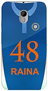 Kasemantra Raina Jersey Case For Motorola Moto G3