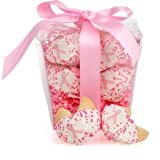 Lady Fortunes® Take Out Pail of 6 Pink Ribbon Fortune Cookies