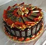 Candy Cake Hershey (Single Layer) - Large RED