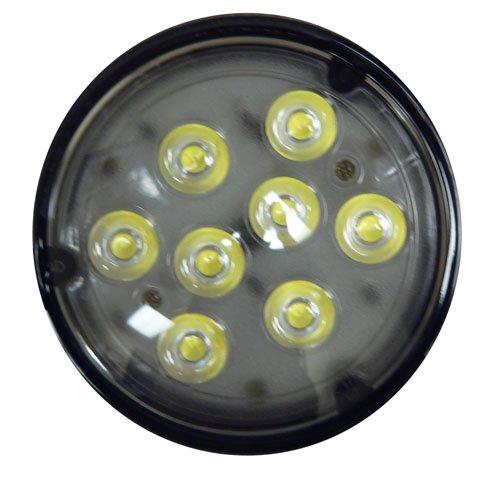 One Led Work Light, 8 Diode 4411 Tractor Light Spot Beam, Bulb Only