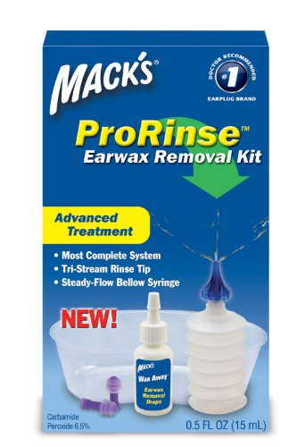 Macks Prorinse Earwax Removal Kit