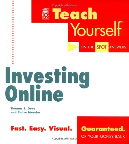 Teaching Yourself Investing Online (Teach Yourself (IDG))