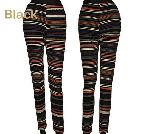 """Stylische Legging """"Underground Orginal """" Size XS 34/ 36 Ringel Black"""