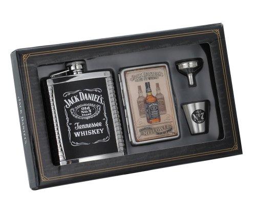 Jack Daniel's Flask/Case/Shot/Funnel Gift Set