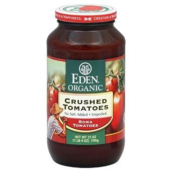 Eden Foods Crushed Tomato (12x25OZ )