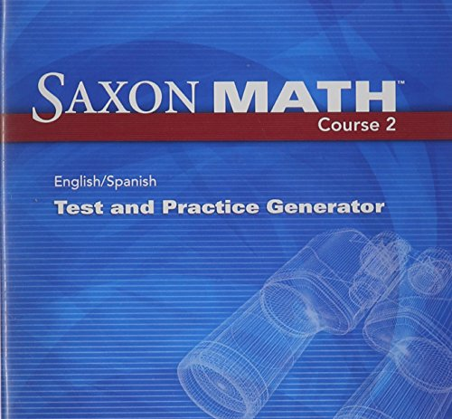 Saxon Math Course 2: Test & Practice Generator CD-ROM with Examview