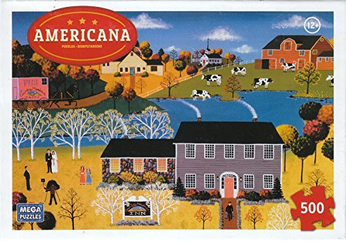 Americana Puzzle - October Love 500 Piece Puzzle