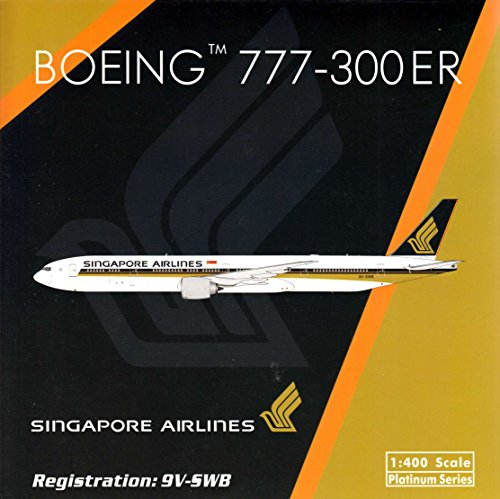 PHX1524 1:400 Phoenix Model Singapore Airlines Boeing 777-300ER REG#9V-SWB (pre-painted/pre-built) (Phoenix Models compare prices)
