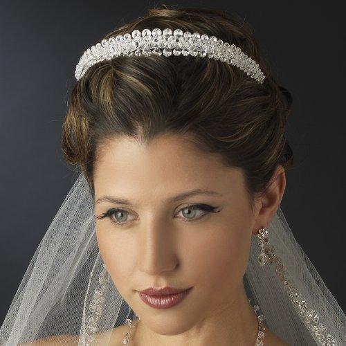 Double-Layer-Swarovski-Crystal-Rhinestone-Wedding-Bridal-Tiara-by-Elegance-by-Carbonneau