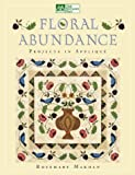 img - for Floral Abundance: Applique Designs Inspired by William Morris