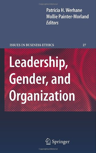 Leadership, Gender, and Organization (Issues