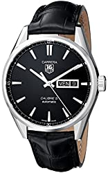 TAG Heuer Men's THWAR201AFC6266 Carrera Analog Display Swiss Automatic Black Watch