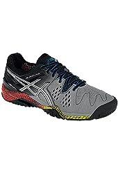 Asics Men's GEL-Resolution® 6 Tennis Shoes Smoke/Silver/Black