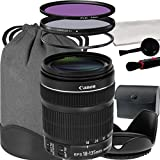 Canon EF-S 18-135mm f 3.5-5.6 IS STM Lens For Canon T3 T5 T6 T3i T5i T6i T6s 70D 60D 80D 700D 750D 600D 7D Mark II DSLR Cameras - International Version (No Warranty)