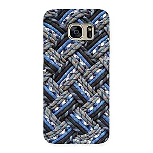 Enticing Pattern Knot Back Case Cover for Galaxy S7
