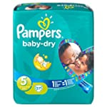 Pampers Baby Dry Size 5 Junior Monthl...