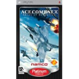 Ace Combat X: Skies of Deception PSP Platiumpar Sony Computer