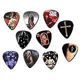 Ozzy Osbourne Classic Recordings Set of 10 Electric Acoustic Guitar Plectrums