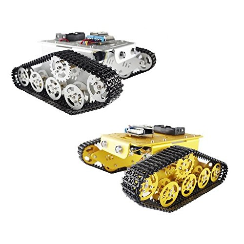 Saver-Geekcreit-DIY-T300-NodeMCU-Aluminum-Alloy-Metal-Wall-E-Tank-Track-Caterpillar-Chassis-Smart-Robot-Kit