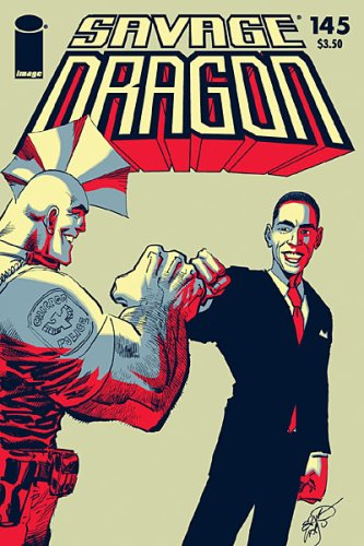 Savage Dragon #145 President Barack Obama Variant Cover