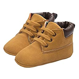 Baby Soft Sole Warm Short Chukka Ankle Boot First Walkers Crib Shoes Sneakers Size L