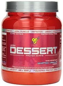 BSN Lean Dessert Protein, Whipped Vanilla Cream 1.38 Pound by Bsn