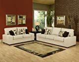 3pc Traditional Modern Fabric Sleeper Sofa Set, BN-VET-S1
