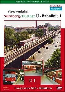 Nuernberg / Fuerther U - Bahnlinie 1