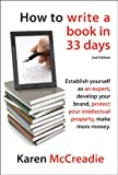 img - for How to Write a Book in 33 Days book / textbook / text book