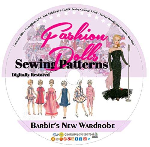 Barbie's New Wardrobe: Vintage Sewing Patterns P102 (Sewing Patterns Barbie compare prices)