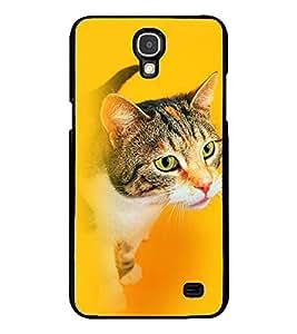 Fuson 2D Printed Cat Designer back case cover for Samsung Galaxy Mega 2 G750 / G7508 - D4324