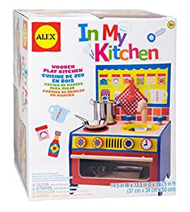 Alex toys in my kitchen set toys games for Kitchen set wala game