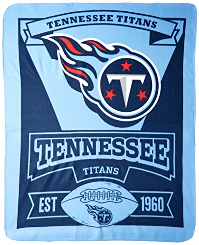 nfl-tennessee-titans-marque-printed-fleece-throw-50-inch-by-60-inch