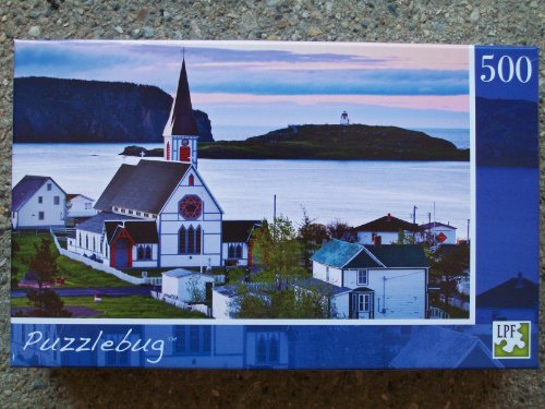 Puzzlebug - 500-Piece - Old Trinity Church, Newfoundland, Canada